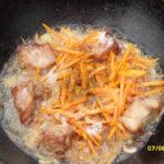 Узбекский плов - добавляем морковь